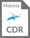 MAKIETA CDR