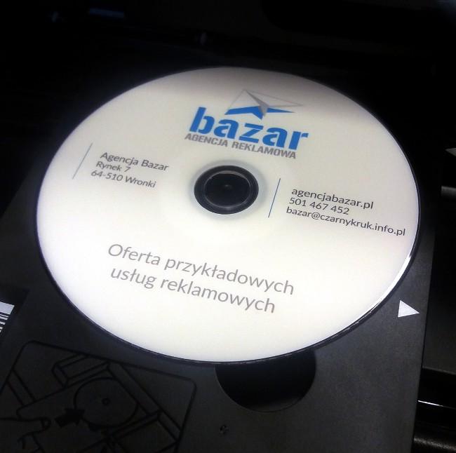 nadruki napłytach cd