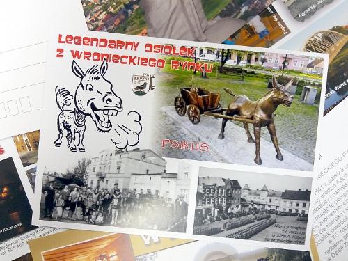pocztowki karty pocztowe wronki
