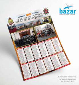 OSP Białężyn kalendarze Strażackie