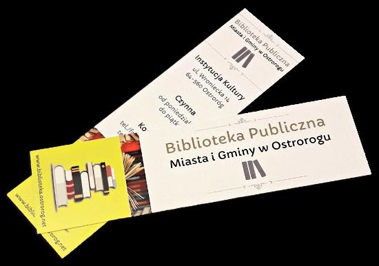 zakładki do książek druk