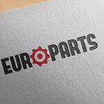 logotyp części samochodowe projekt