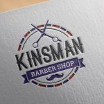 logotyp barber shop