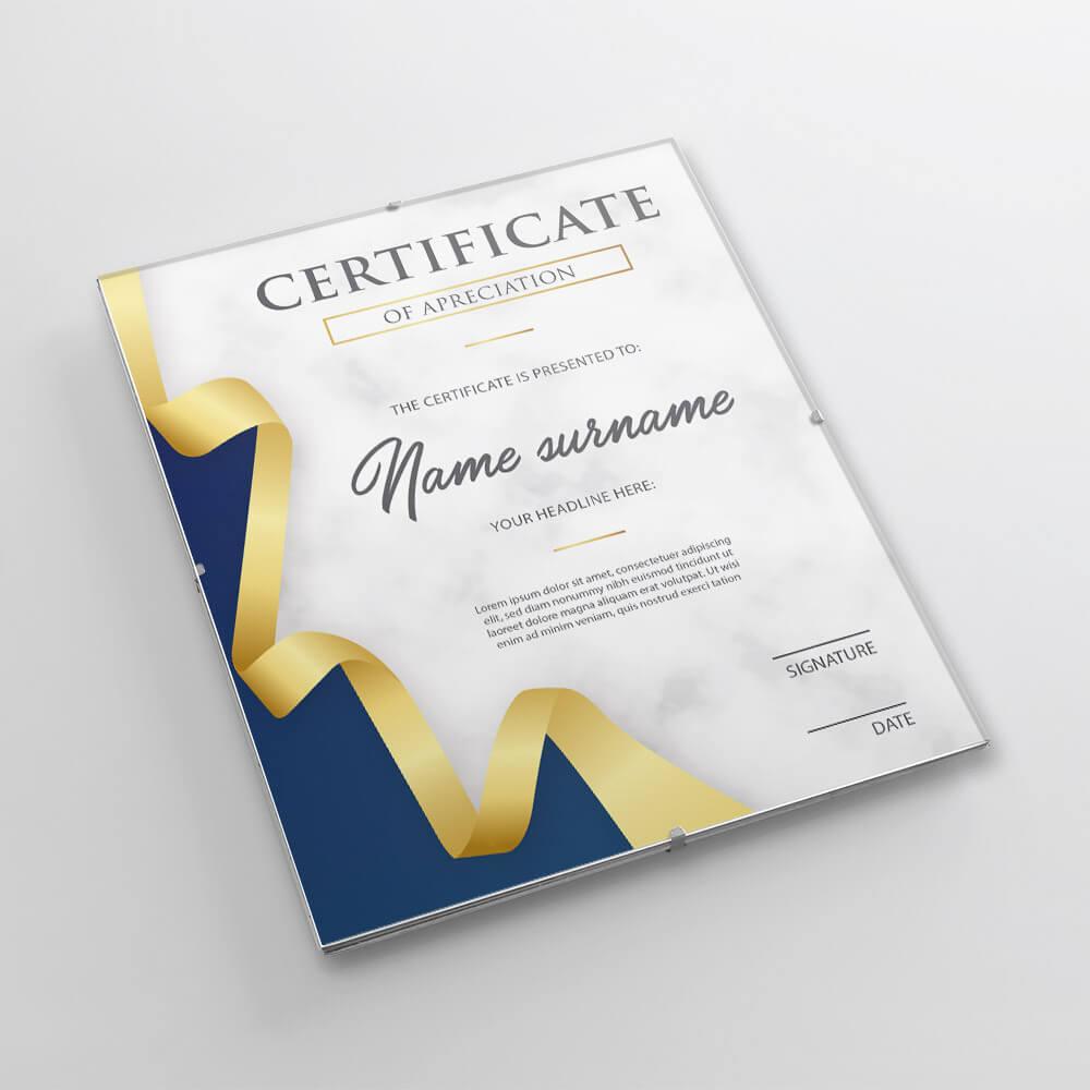 certyfikat wantyramie