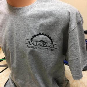koszulki zlogo AMJ-Craft Wronki