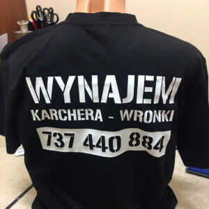 znakowanie koszulek drukarnia
