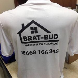 koszulki dla firm budowlanych zlogo