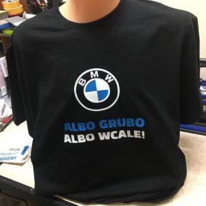 koszulki znadrukiem BMW