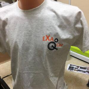 koszulki zlogo firmy nadruk folią flex