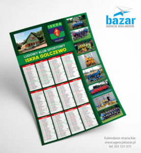 Najtańsze kalendarze dla klubów sportowych