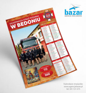 Kalendarz strażacki zkobietami