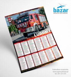 Projekty kalendarzy dla straży pożarnej agencja reklamowa
