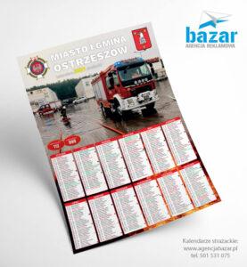 Kalendarze dla jednostek OSP