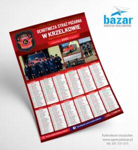Kalendarz strażacki 2021 OSP wKrzelkowie