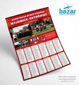 Tanie kalendarze strażackie