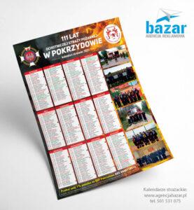 Kalendarze strażackie wzory