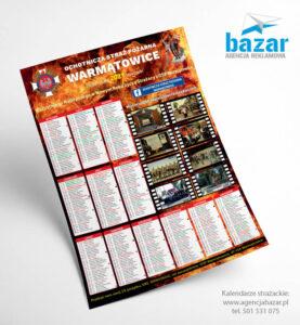 Projekty kalendarzy strażackich