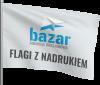 flaga zwłasnym nadrukiem reklamowym